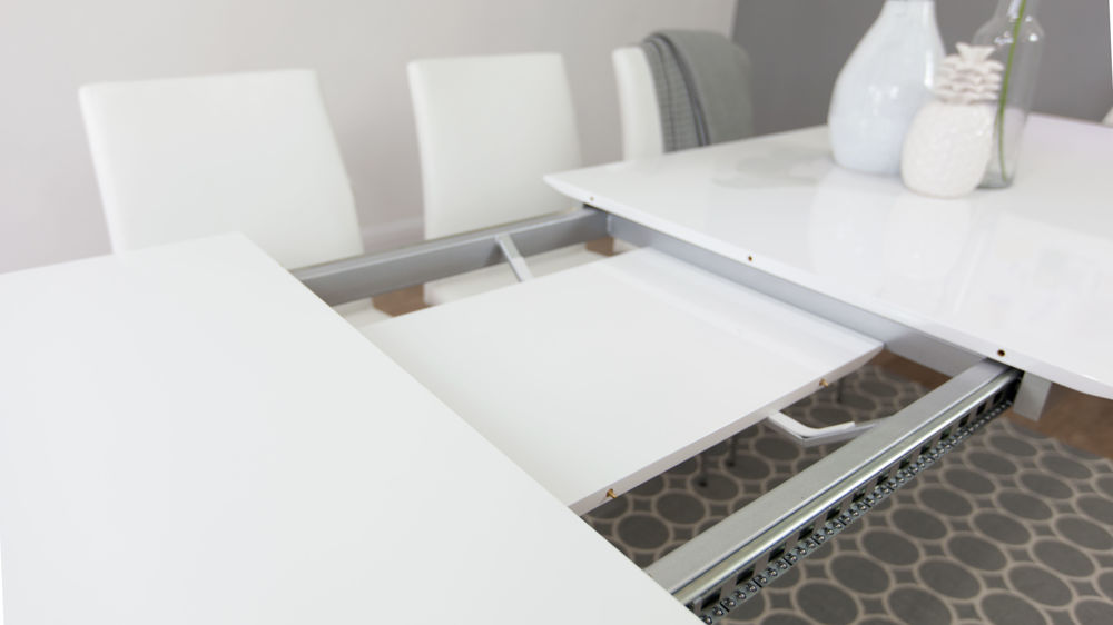 White Gloss Dining Table UK Delivery