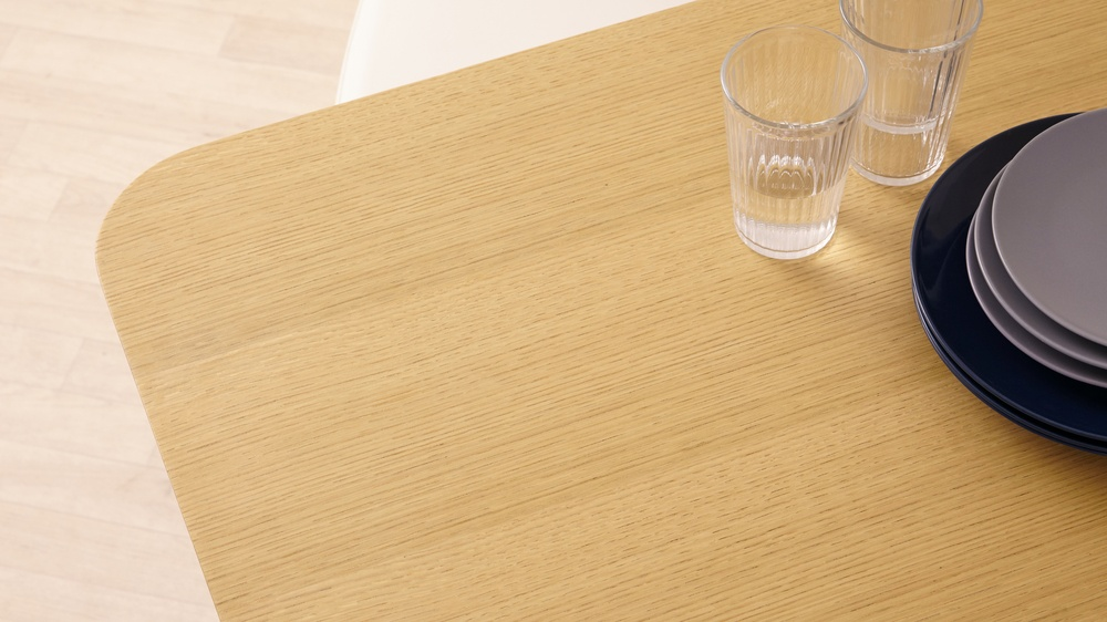modern oak dining table top