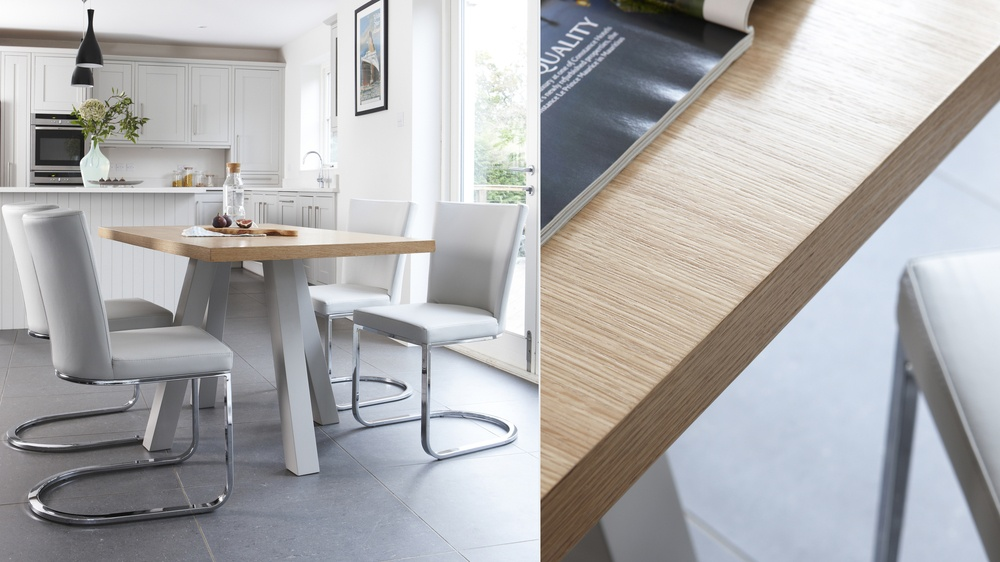 Oak Dining Table that seats 4 people