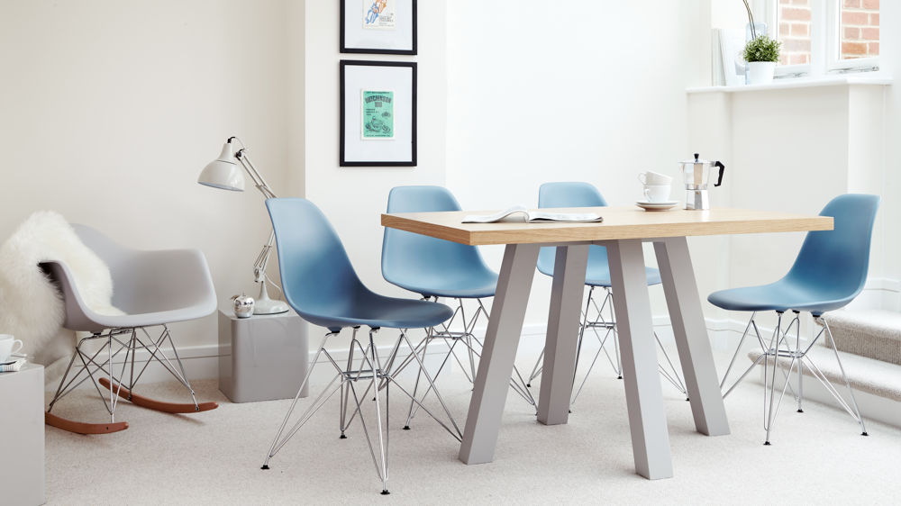 Designer Dining Set with Eames Dining Chairs