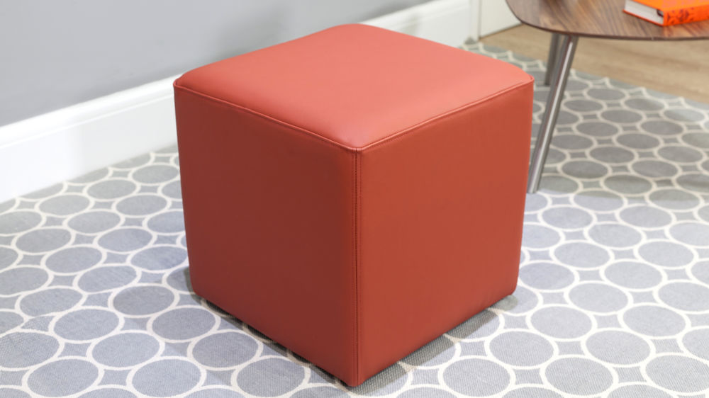 Modern Leather Small Stool