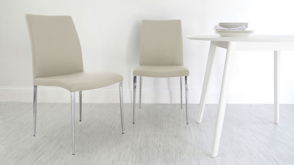 Modern Beige Dining Chairs