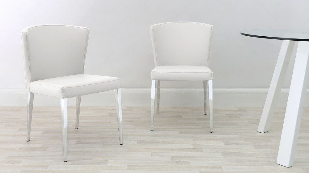 Curva Curved Dining Chairs Exclusive To Danetti