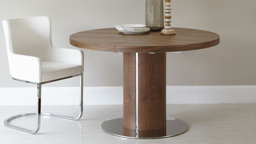 Merveilleux Stylish Wooden Extending Dining Table
