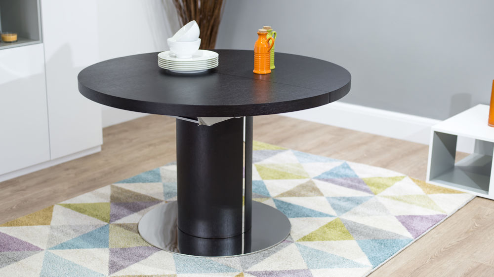 Stylish Round Wooden Dining Table