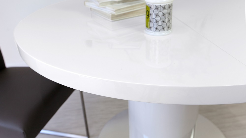 Round White Dining Table UK