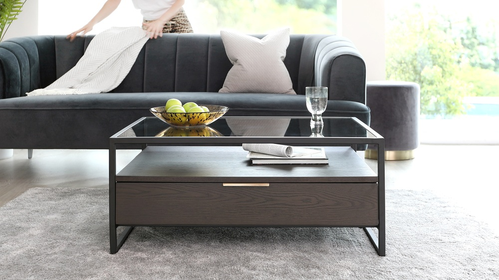 Denver coffee table with drawer