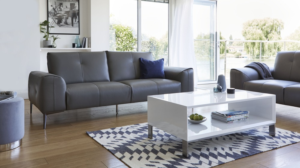 Modern leather sofa buy