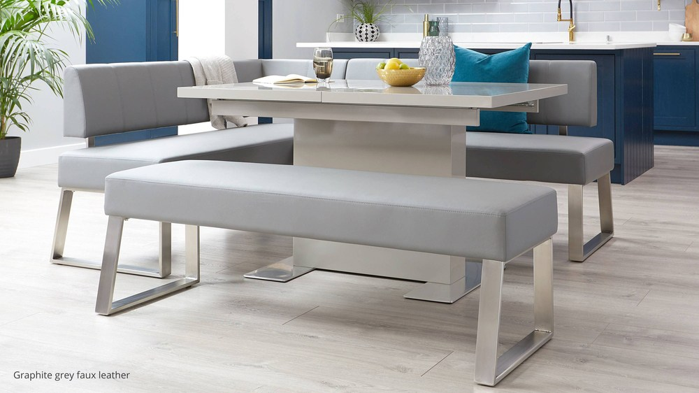 Buy 3 seater modern bench for kitchen