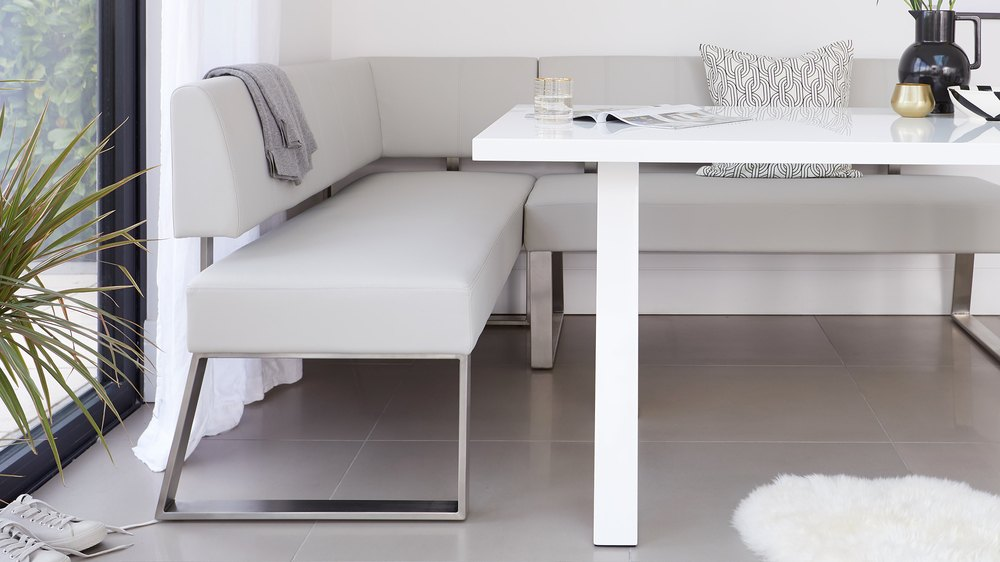 modern dining benches