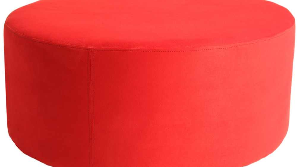 Contemporary Red Stool