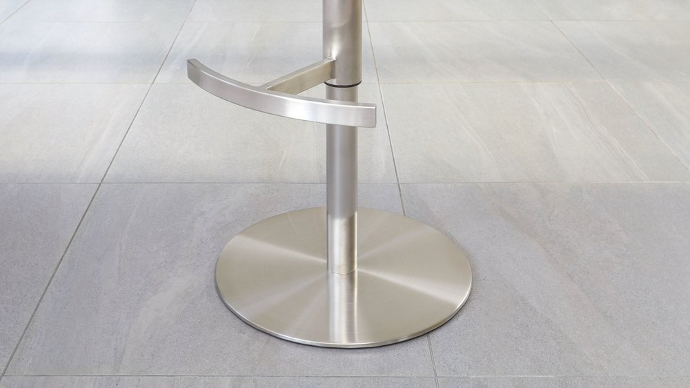 Stainless steel gas lift bar stools