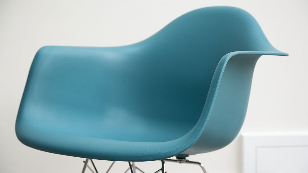 Contemporary Teal Arm Chair
