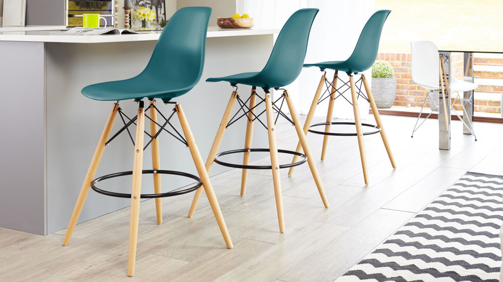 Surprising Eames Style Bar Stool Ocoug Best Dining Table And Chair Ideas Images Ocougorg