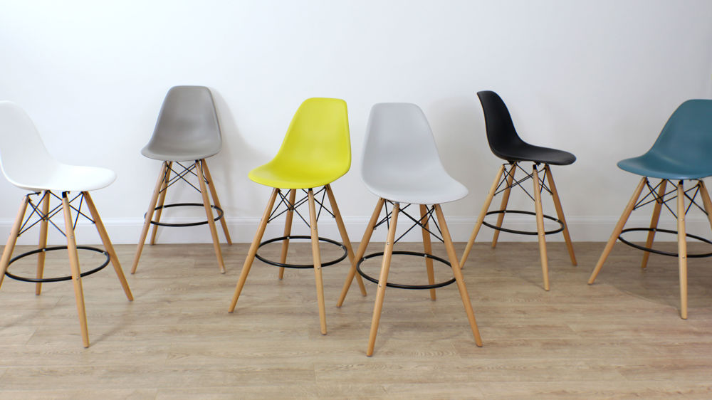 Eames Style Bar Stools Under £80