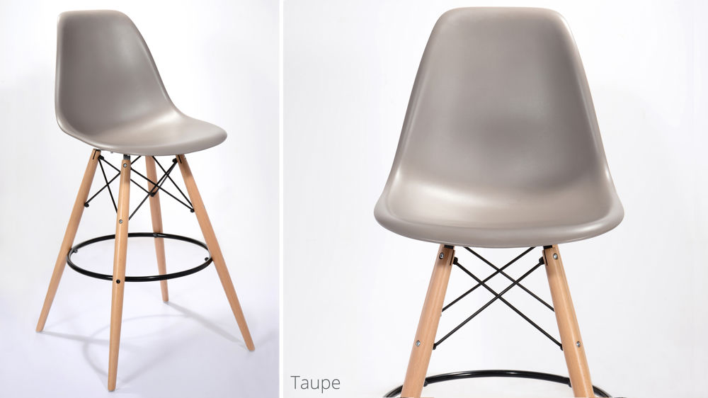 Comfortable Plastic Bar Stools