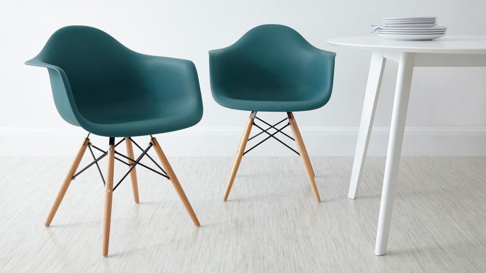 home seating dining chairs eames style dining armchair