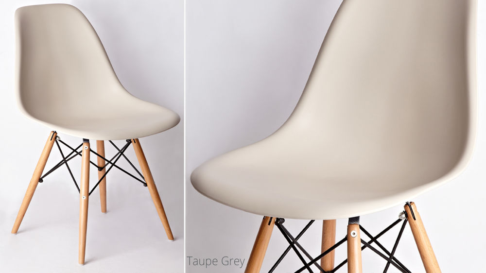 Easy Clean Eames Style Dining Chairs
