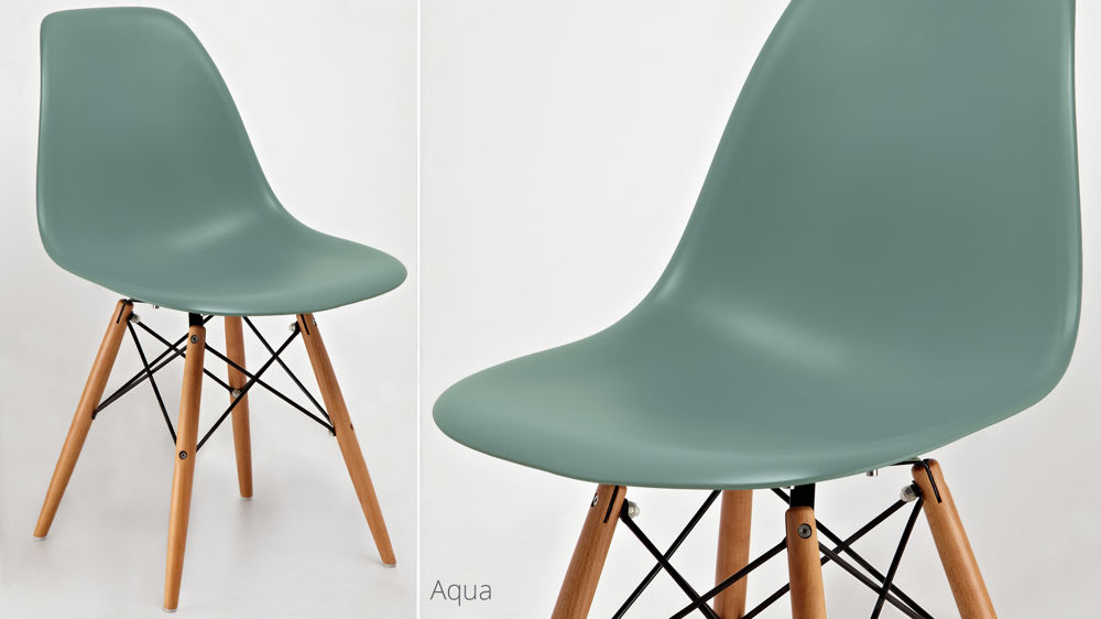 Modern Coloured Eames Dining Chairs