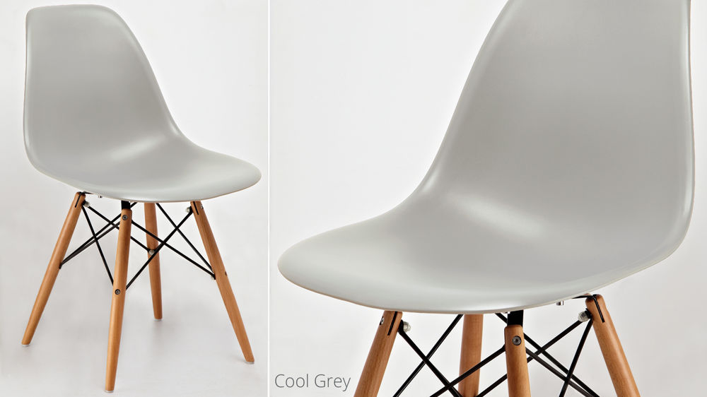 Grey Plastic Dining Chairs
