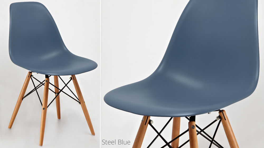 Stylish Blue Dining Chairs