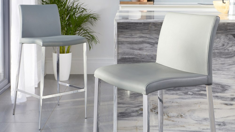 Simple comfortable bar stools