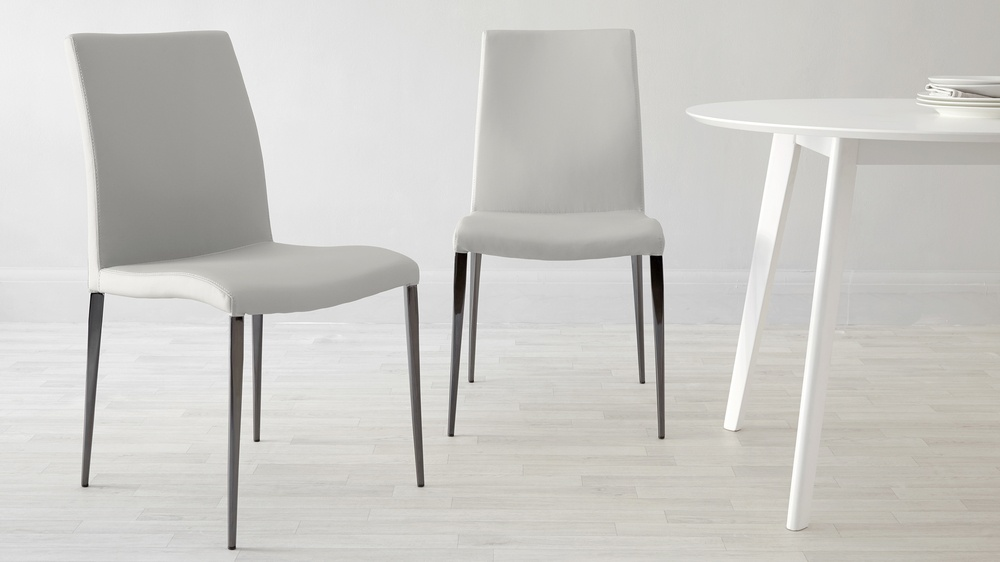 Modern Chrome Dining Chairs UK Delivery