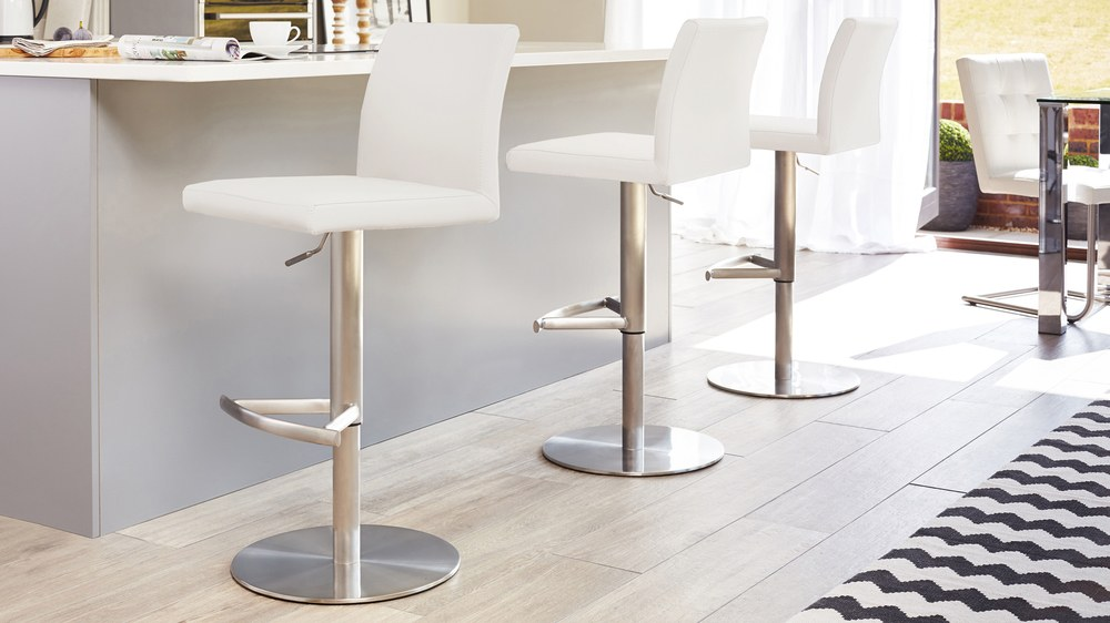 Stainless Steel Gas Lift Bar Stool