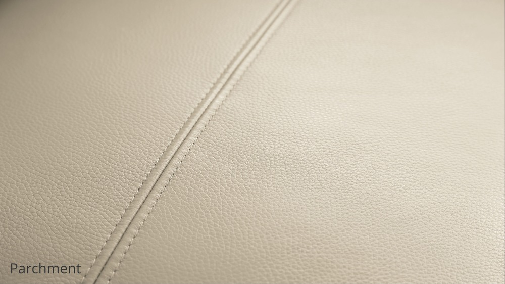 Parchment quality leather sofa