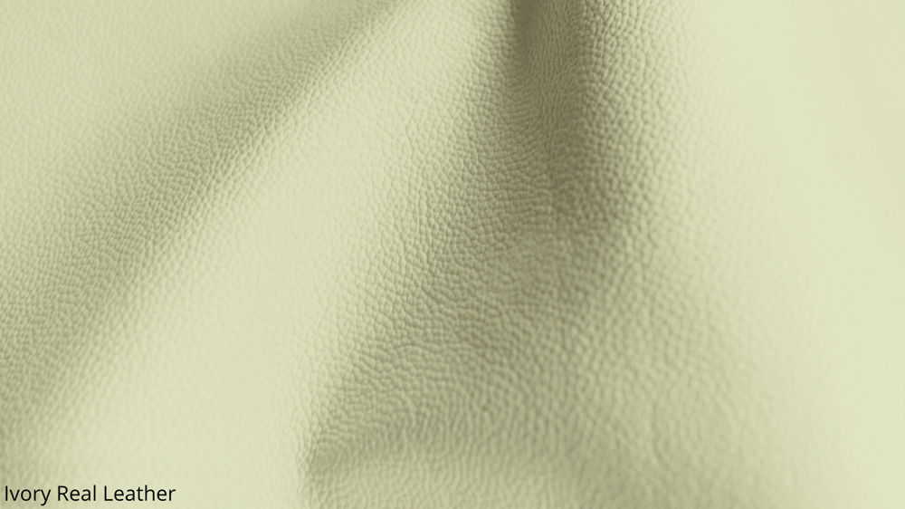 Beige Real Leather