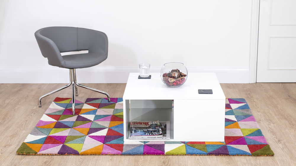 Stylish White Coffee Table