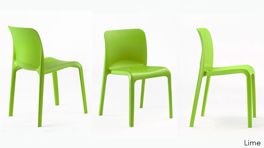 Green Plastic Dining Chairs