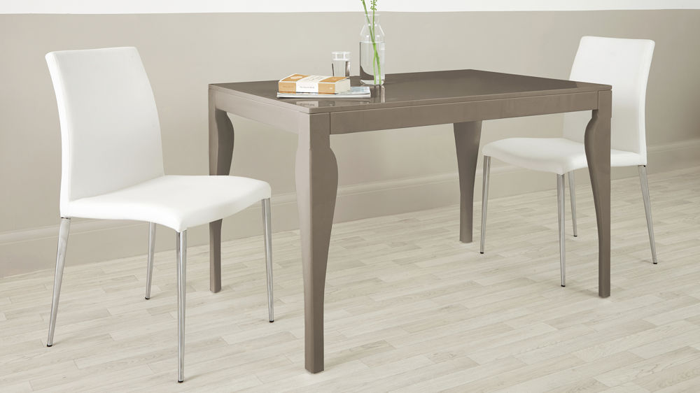 Large Grey Dining Table