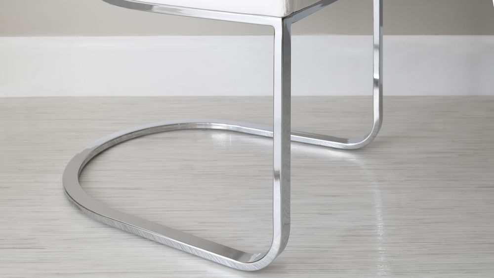 Chrome Legged Swing Dining Chairs UK