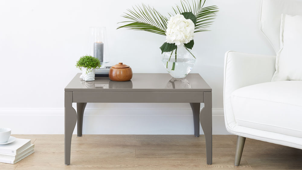 Modern Grey Gloss Coffee Table
