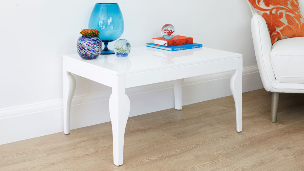 Large White Gloss Coffee Table