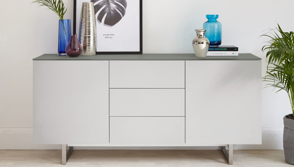 Large sideboard with drawers and cupboards