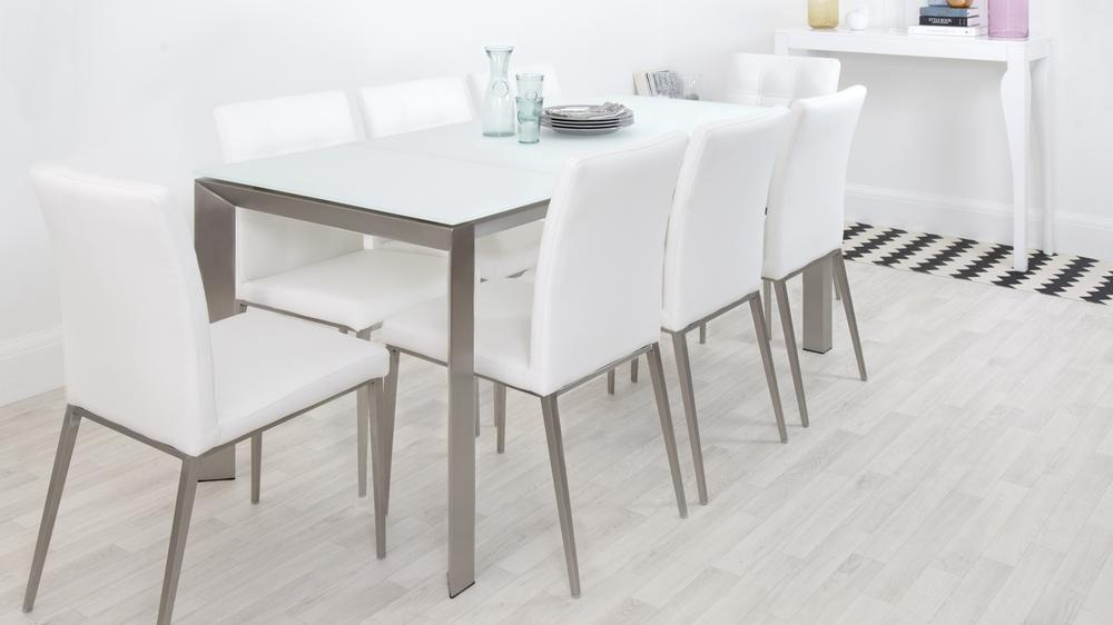 Modern and Contemporary Family Extending Dining Set