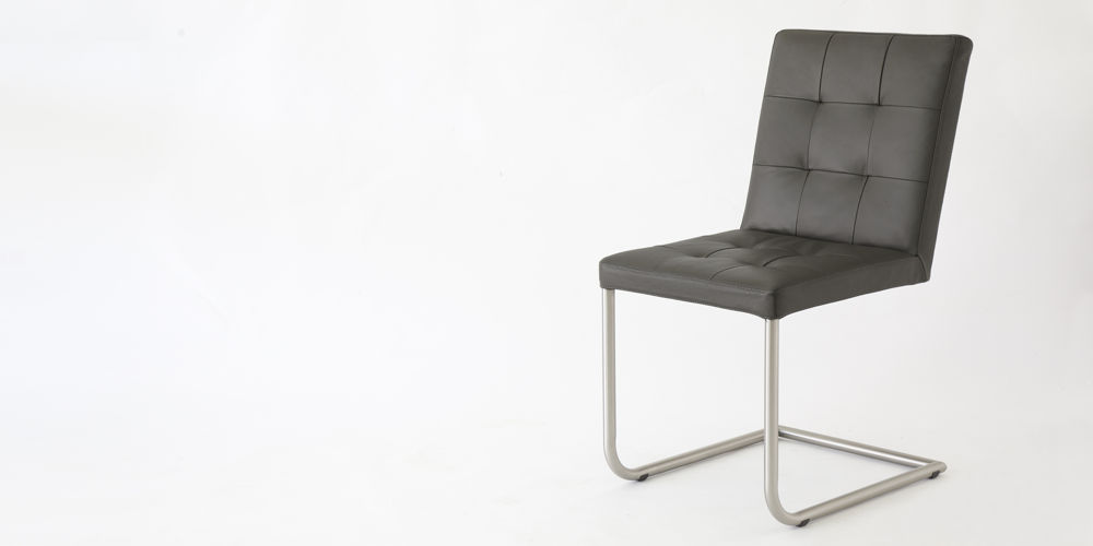 Danni Real Leather Dining Chair