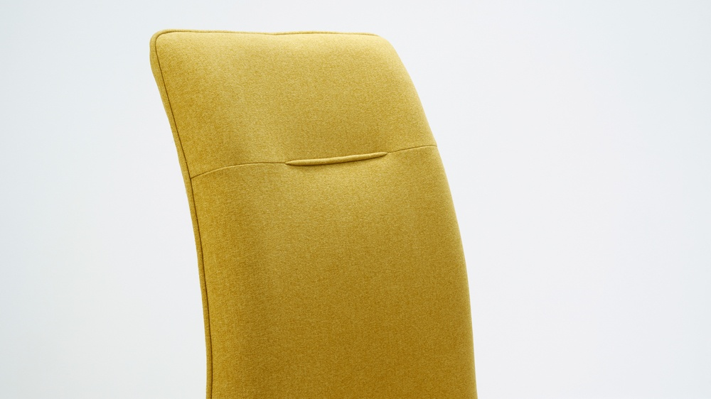Cantilever Yellow Chairs