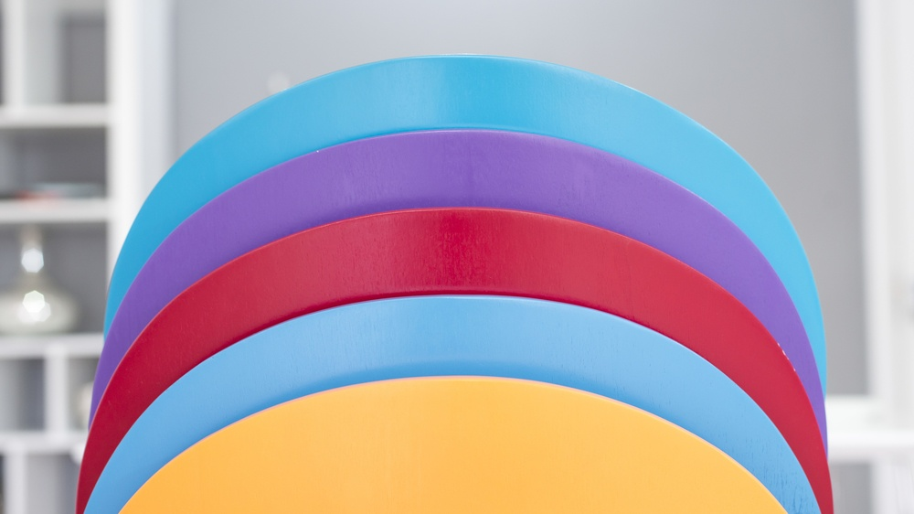 Contemporary Colourful Dining Chairs