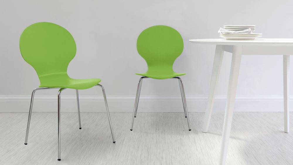 Contemporary Green Dining Chairs