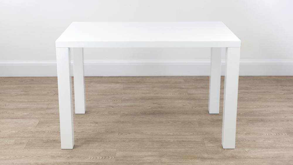 Modern White Gloss Dining Table UK Delivery