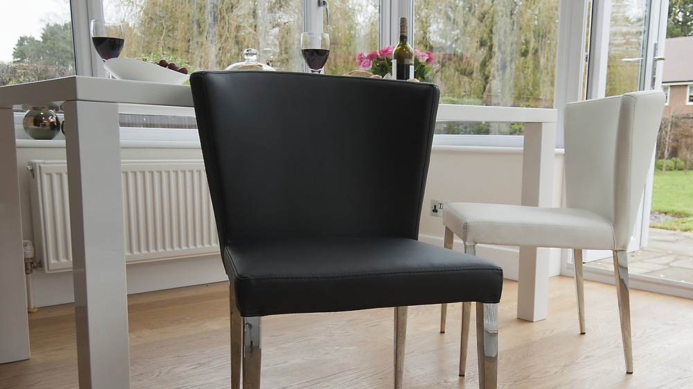 Cheap Black and White Dining Chairs