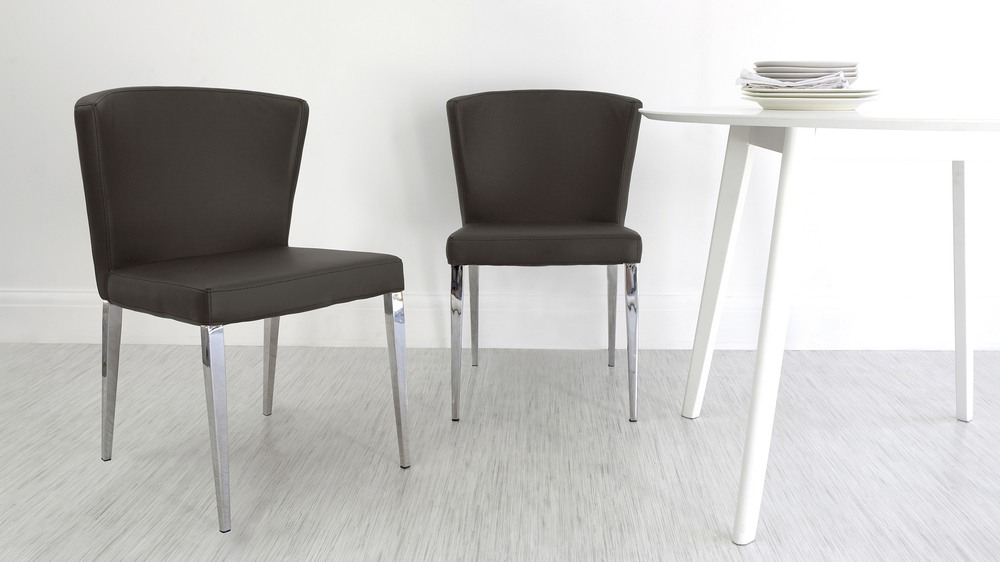 Modern Brown Dining Chairs