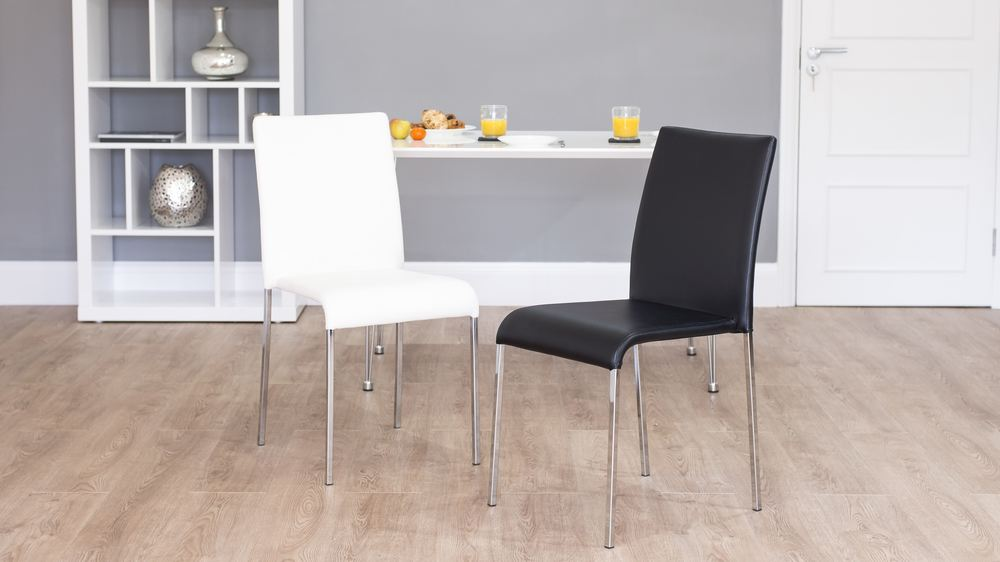 Black and White Dining Chairs UK Delivery