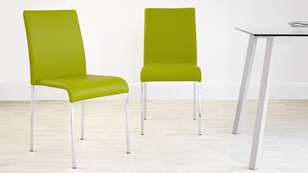 Lime Bright Stackable Dining Chair