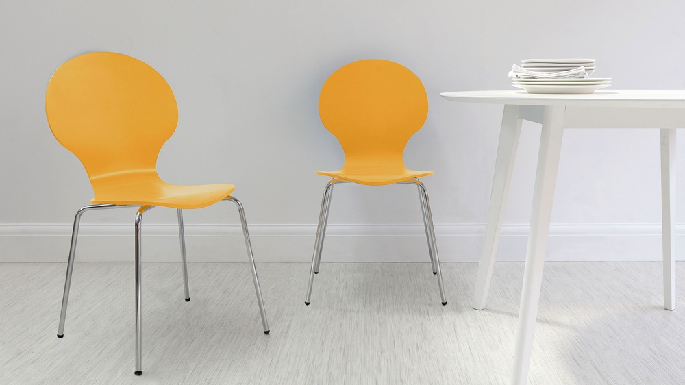 Modern Coloured Dining Chairs
