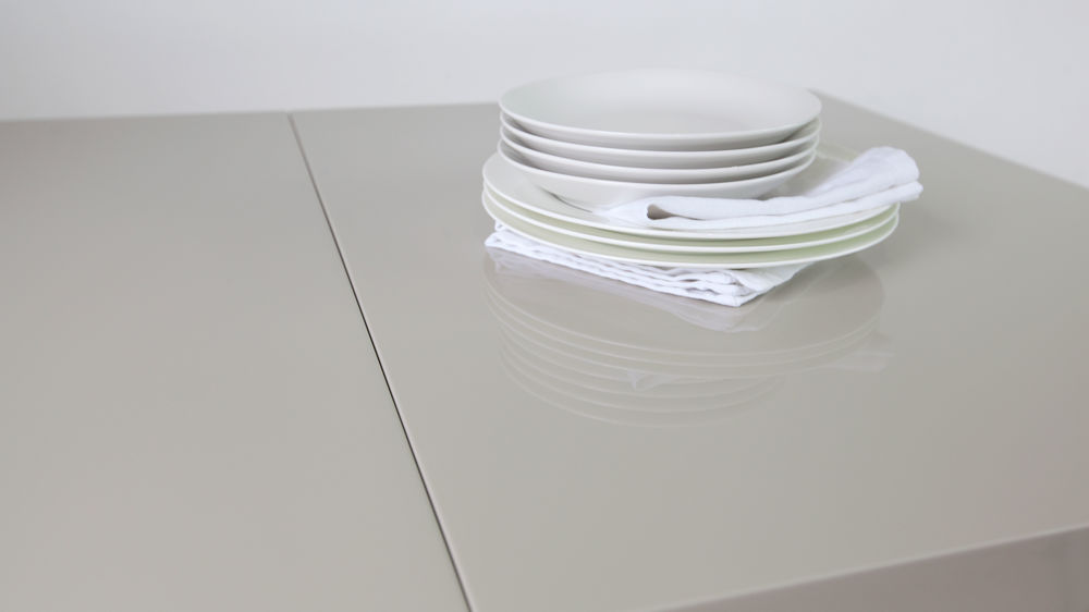 Modern Grey Gloss Table