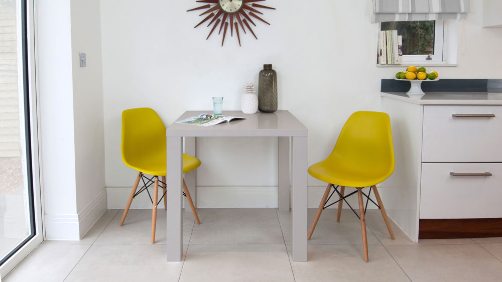 Yellow Eames Dining Set